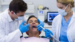 Dentist injecting anesthesia into patient - Dental Anesthesia San Jose, CA